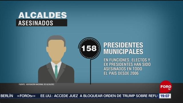 Foto: Presidentes Municipales Alcaldes Asesinados México 15 Enero 2020