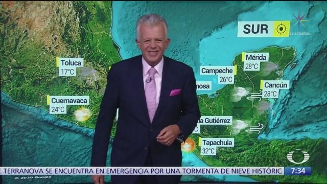 despierta con tiempo frio en la republica mexicana