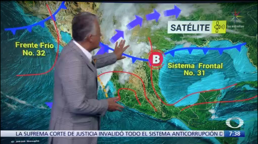 despierta con tiempo lluvias dispersas en zacatecas y san luis