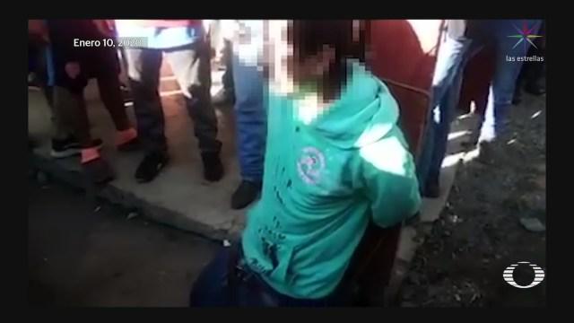 Foto: Detienen Verdugos Feminicida Chiapas 17 Enero 2020