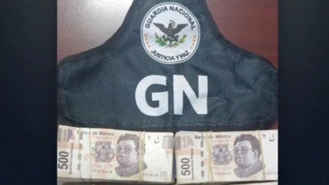 FOTO: Detienen a sujeto con un millón de pesos en la CDMX, el 19 de enero de 2020