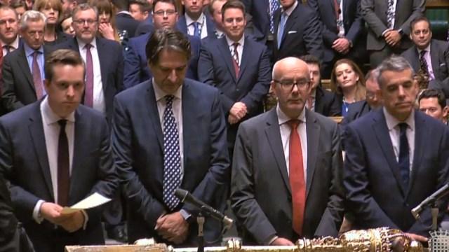 FOTO Diputados británicos aprueban Brexit, tras años de división (EFE)