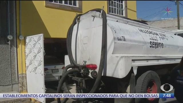 distribucion de agua potable empezara a normalizarse en iztapalapa