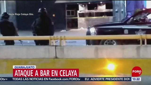 FOTO: 19 enero 2020, dos personas mueren tras ataque contra bar de celeya