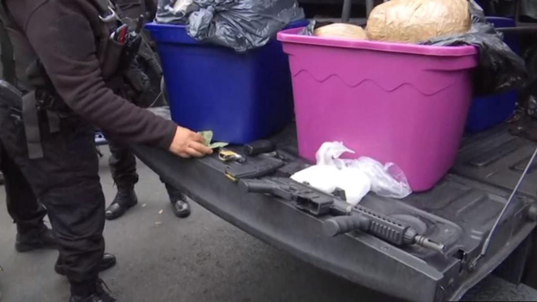 Foto: Detienen a tres presuntos narcomenudistas en la colonia Morelos, CDMX, 19 enero 2020