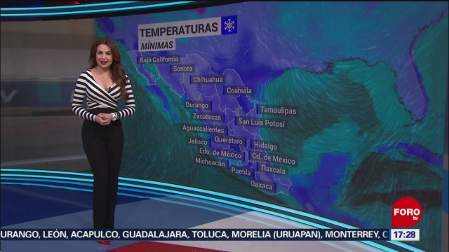 FOTO: clima con mayte carranco del 22 de enero de