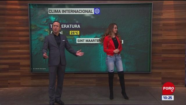 el climaenexpreso internacional del 21 de enero del
