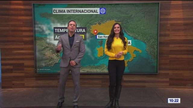 el climaenexpreso internacional del 23 de enero del