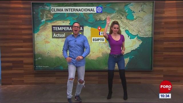 el climaenexpreso internacional del 24 de enero del