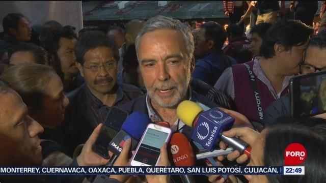FOTO: 26 enero 2020, eligen a ramirez cuellar comopresidente provisional de morena