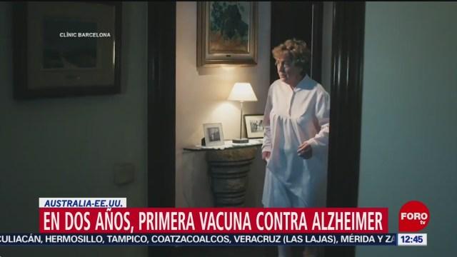 en dos anos podria estar lista la primera vacuna contra el alzheimer