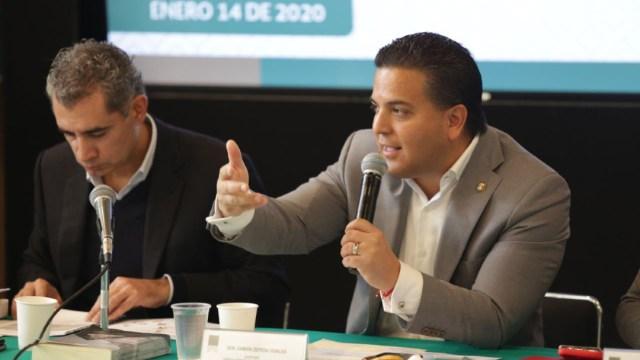 Foto: Damián Zepeda rechaza propuesta de castigar outsourcing ilegal con cárcel, 19 de enero de 2020, (Twitter)