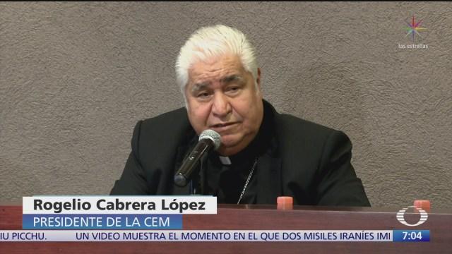 episcopado mexicano considera agresivas las medidas del operativo mochila segura