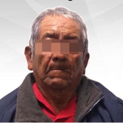 Foto: Adulto mayor es detenido por abusar sexualmente de niña de 8 años, 18 de enero de 2020, (Fiscalía)