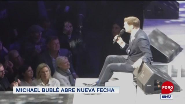 espectaculosenexpreso michael buble abre nueva fecha