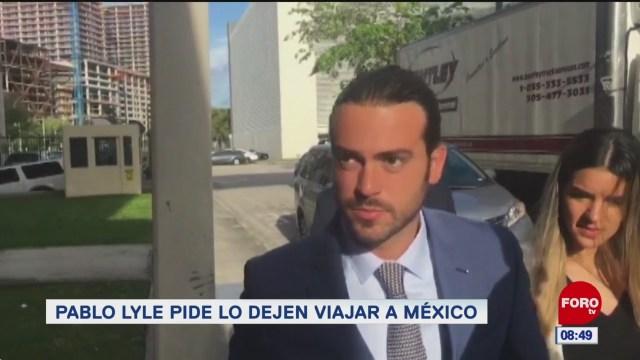espectaculosenexpreso pablo lyle pide lo dejen viajar a mexico