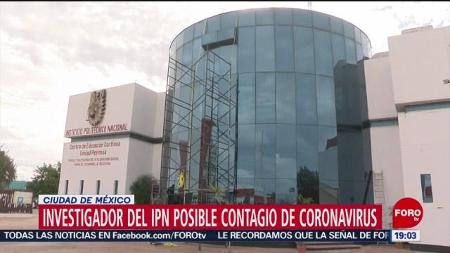Foto: Recorrido Profesor Posible Coronavirus Tamaulipas IPN 22 Enero 2020