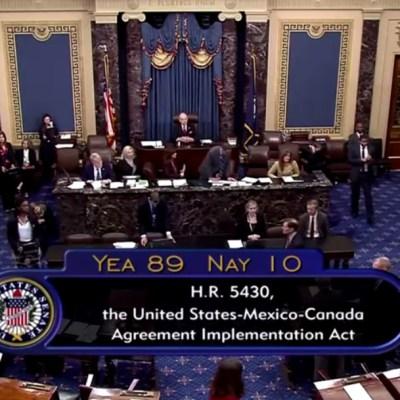 Estrategia de AMLO rindió frutos, dice Ebrard por T-MEC en EE.UU.