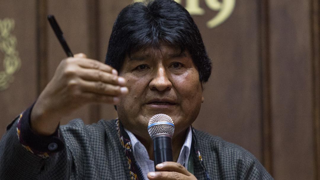 FOTO: El expresidente boliviano Evo Morales, el 13 de enero de 2020