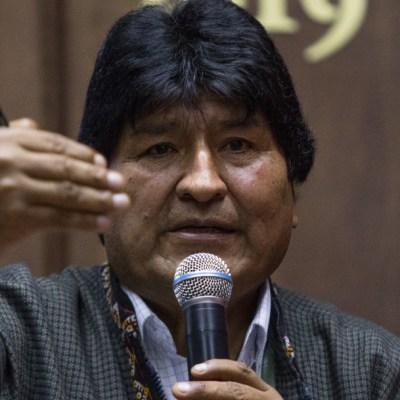 Evo Morales defiende el llamado de los grupos armados a la defensa en Bolivia