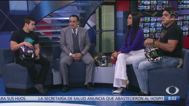 expertos hablan de la situacion del futbol americano en mexico