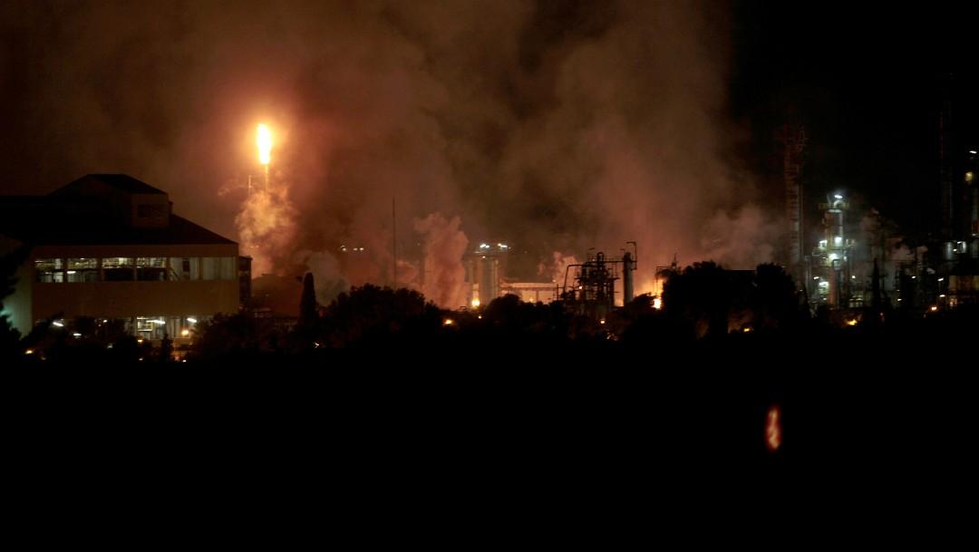 Foto: Explosión en fábrica petroquímica de Tarragona, España, deja cuatro heridos