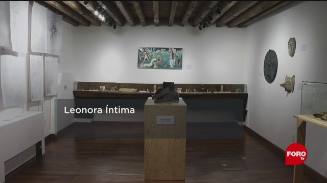 FOTO: 11 enero 2020, exposicion leonora intima