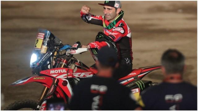 Imagen: Fallece el motociclista Paulo Goncalves en el Rally de Dakar, 12 de enero de 2020 (AP)