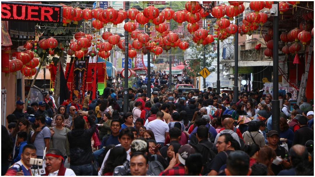 Foto: Así se vive el Año Nuevo Chino en la CDMX, 25 de enero de 2020 (ROGELIO MORALES /CUARTOSCURO.COM)