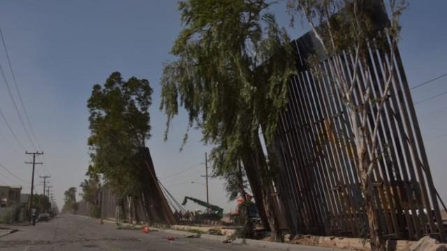 Fotos La valla fronteriza cayó en la zona que divide a Caléxico y Mexicali.