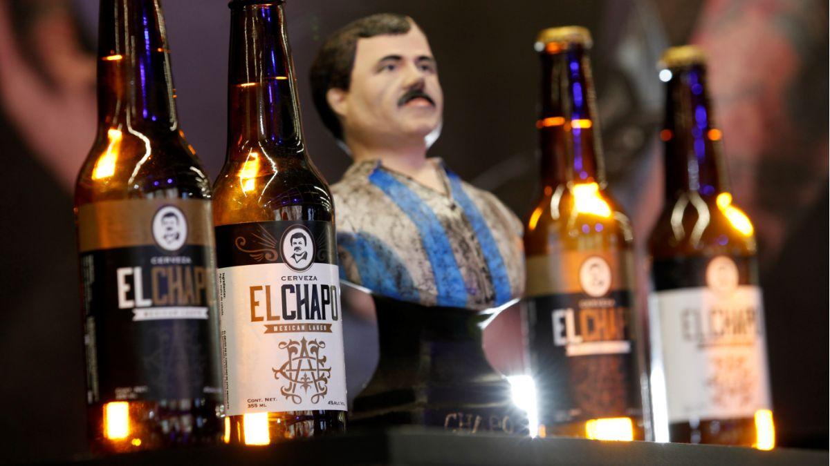 """Foto: Cervezas de Joaquín """"Chapo"""" Guzmán. Efe"""