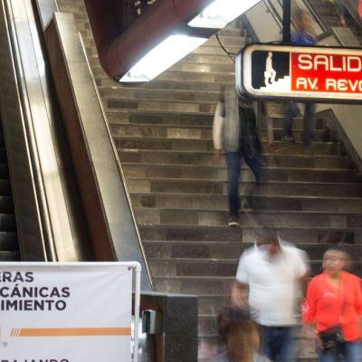 Cambiarán 55 escaleras eléctricas del Metro en 2020