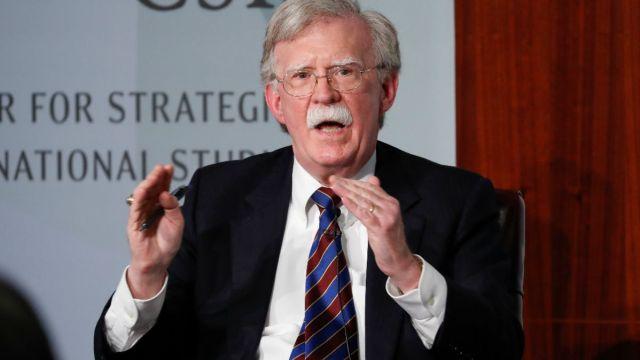 Foto: John Bolton, exasesor de seguridad nacional de Estados Unidos. AP