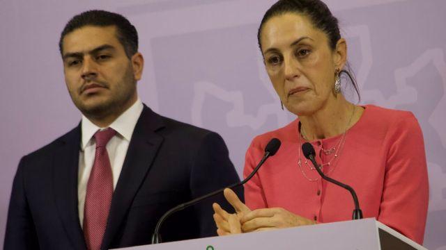 Foto: Omar García Harfuch y Claudia Sheinbaum. Cuartoscuro