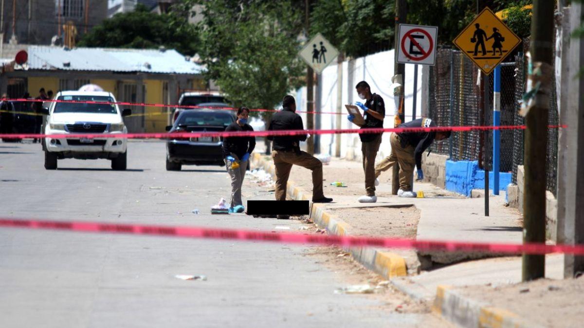 Foto: Una niña y su padre fueron asesinados en calles de Tijuana. Cuartoscuro