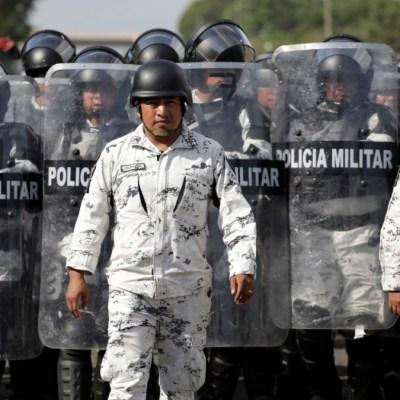 Foto: Operativo de la Guardia Nacional en la frontera sur de México. Reuters