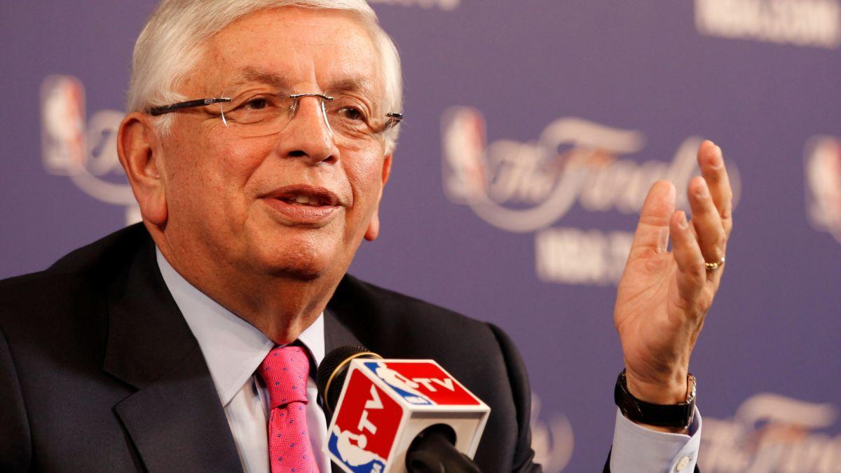Foto: David Stern, excomisionado de la NBA. Reuters