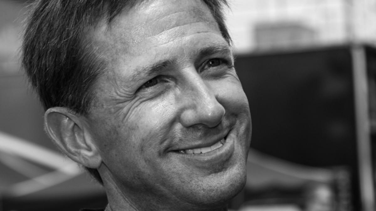 Foto: John Andretti, piloto de Nascar e Indycar.
