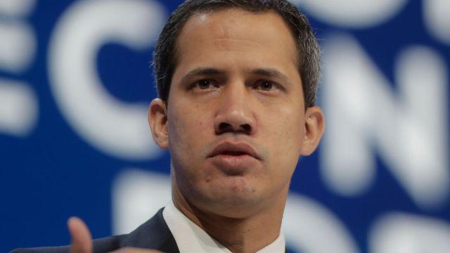 Foto: Líder venezolano Juan Guaidó. AP