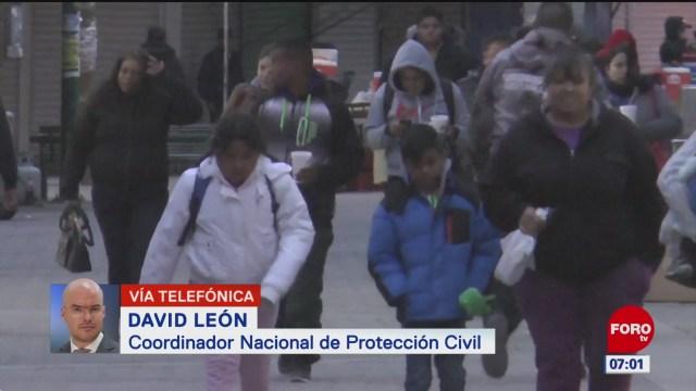 frente frio 32 provocara bajas temperaturas en mexico dice david leon