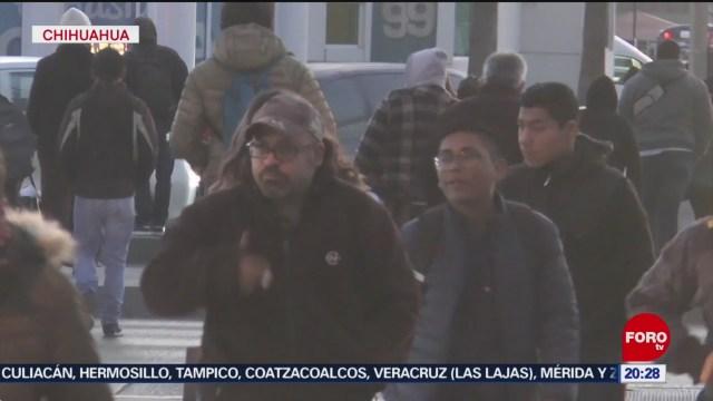 Foto: Frente Frío Bajas Temperaturas Municipios Chihuahua 22 Enero 2020