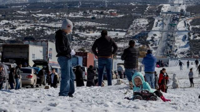 Imagen: La Conagua pronosticó que derivado del Frente Frío número 29 se esperan temperaturas de menos 10 grados Celsius y nevadas en zonas montañosas de Chihuahua y Durango