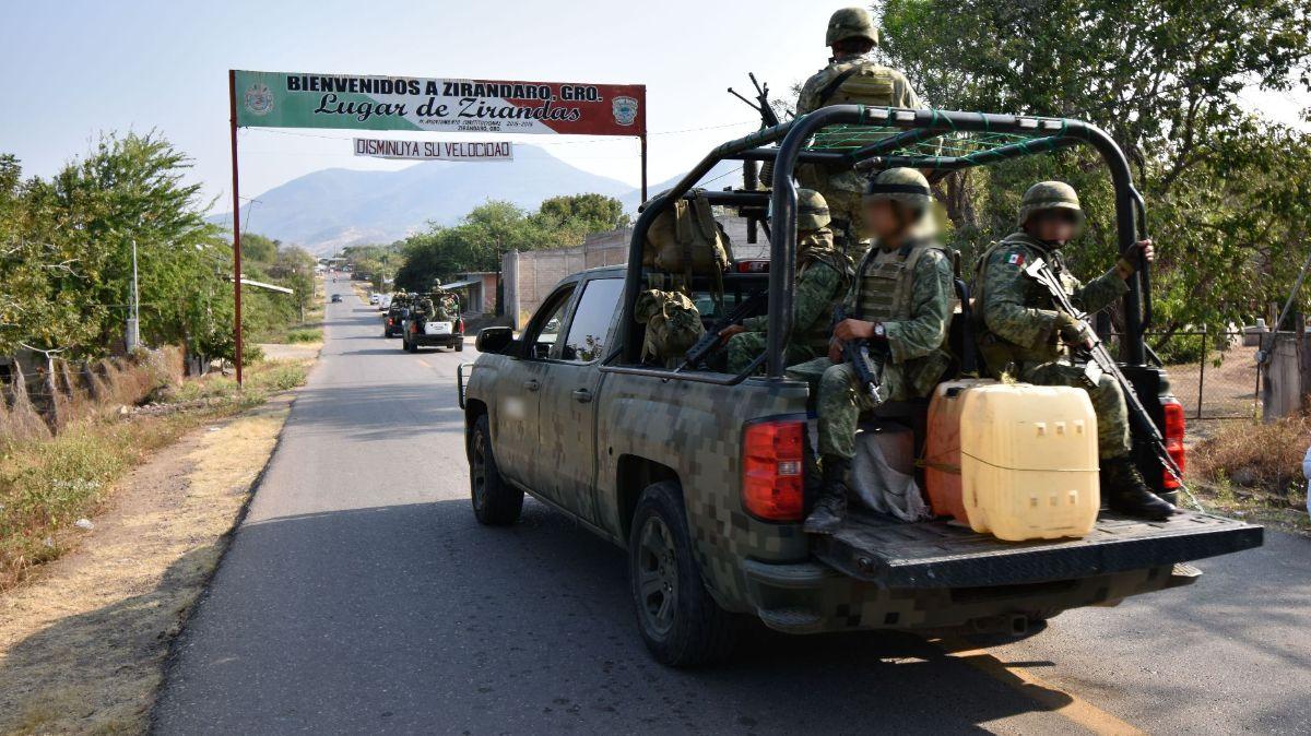 Familia Michoacana irrumpe en Zirándaro, Guerrero