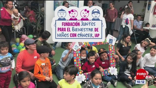 fundacion juntos para el bienestar de ninos con cancer
