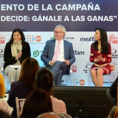 Fundación Televisa busca prevenir el embarazo adolescente