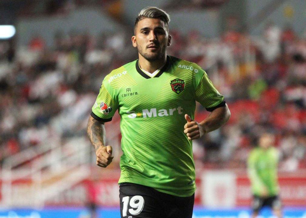 04/01/2020. El futbolista de FC Juárez, Gabriel Hachen es suspendido por agredir a un árbitro en partido amistoso