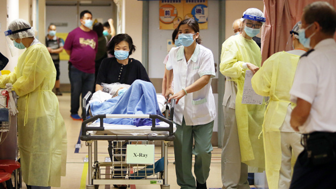 Foto: Van 571 personas infectadas con el nuevo coronavirus en China, 22 de enero de 2020, (Getty Images)
