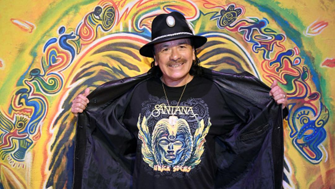 Foto: Carlos Santana lanzará su cepa de marihuana, 16 de enero de 2020, (Getty Images, archivo)