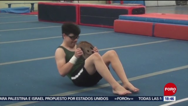 FOTO: gimnasta con sindrome de down competira en turquia