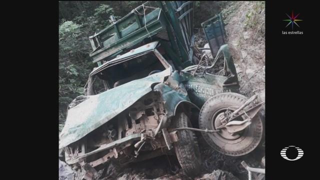 Foto: Hallan Diez Cuerpos Calcinados Camioneta Chilapa Guerrero 17 Enero 2020